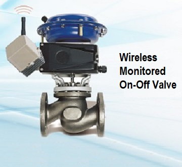 Wireless On-Off Valve SmartWatchWeb
